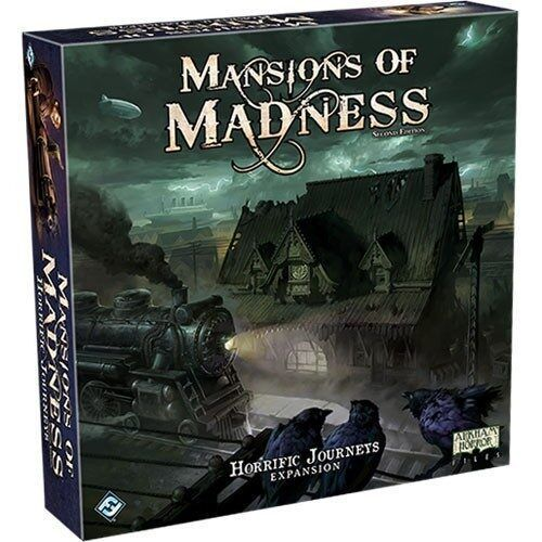 Mansions of Madness (2nd Edition): Horrific Journeys Expansion (Preorder)